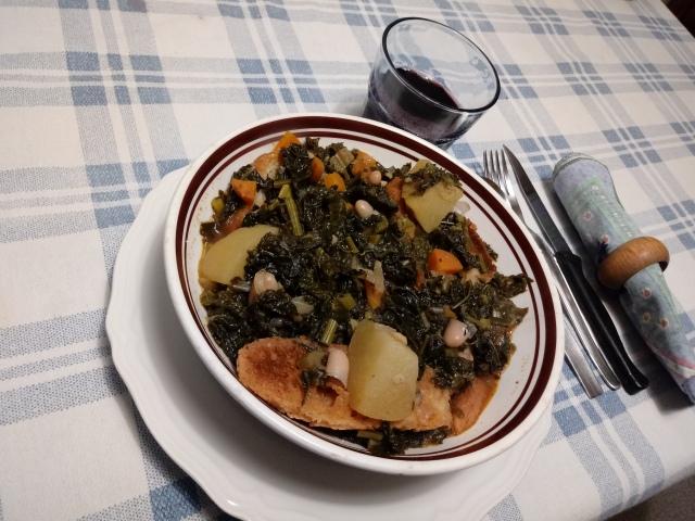 Zuppa di cavolo nero (3)
